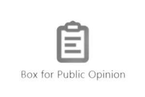 Box for Public Opinion